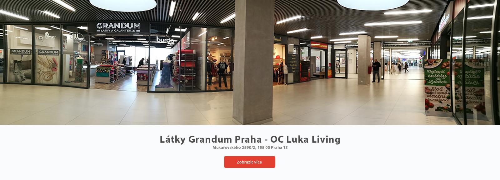 Látky Praha | Látky Grandum Praha 13 Luka